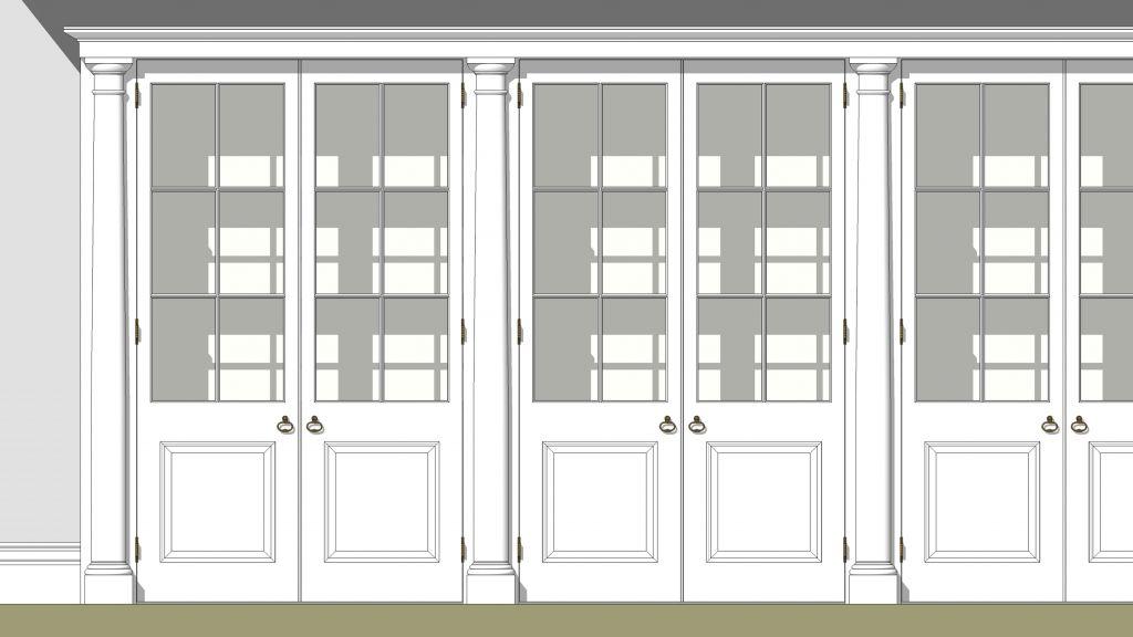Cabinet design render