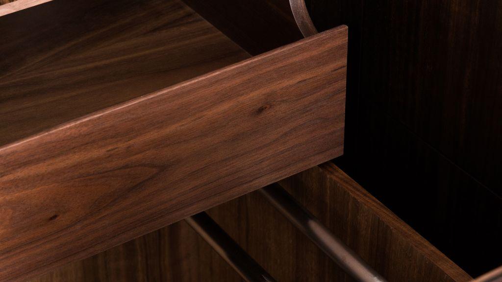 Handmade british bespoke kitchen drawers