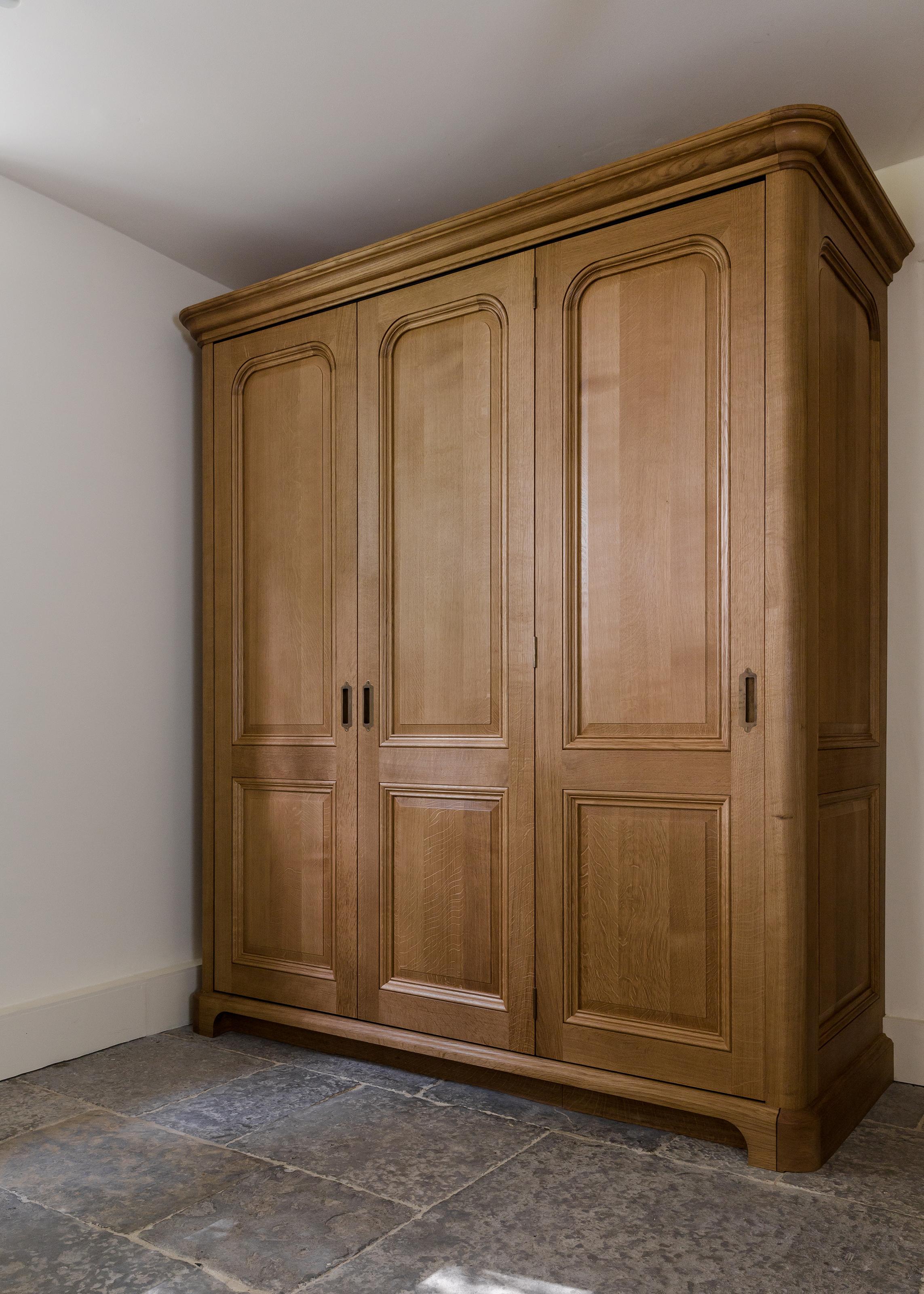 Bespoke Oak Hideaway Kitchen Cabinet Joel Bugg